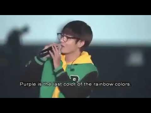 Purple taehyung 💜