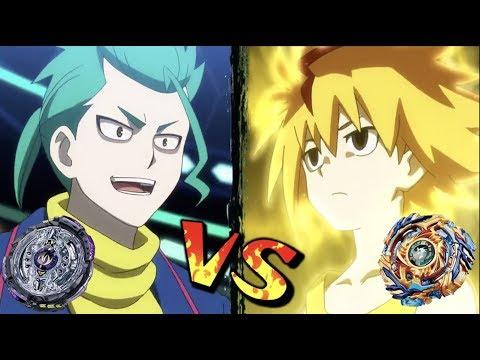 Twin Nemesis VS Drain Fafnir | Beyblade Burst Battle