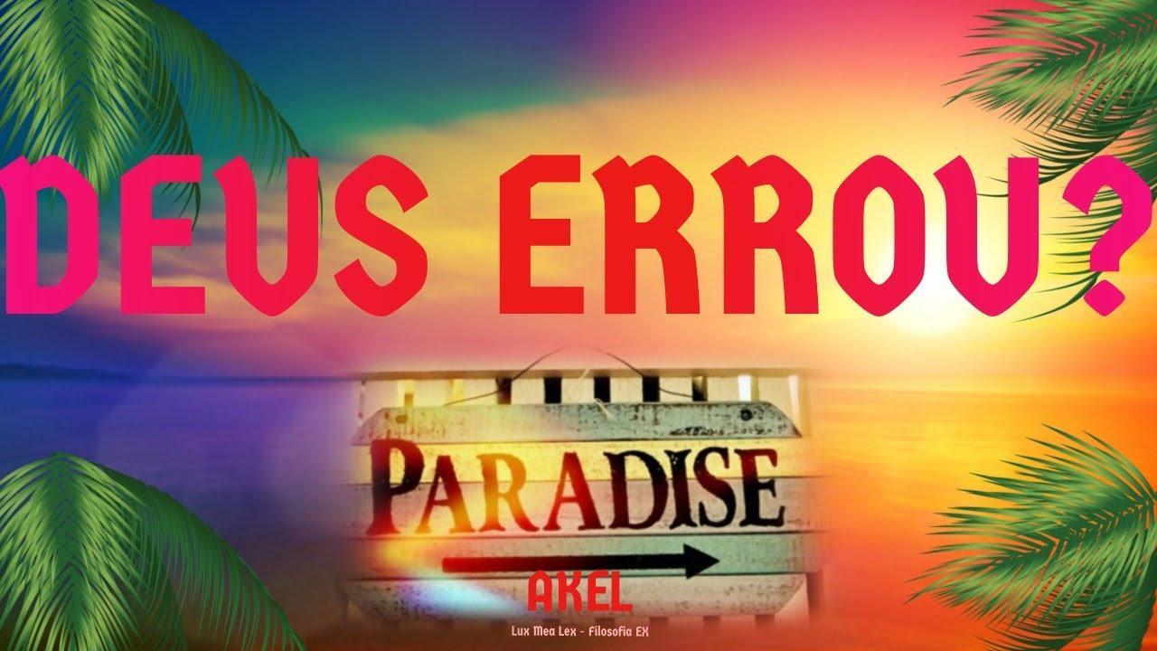 🌳 DEUS Errou ao Criar o Homem por conta do #Pecado ORIGINAL e a SERPENTE?