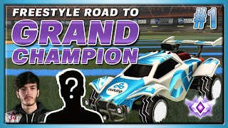 FREESTYLE ROAD TO GRAND CHAMP WITH A SPECIAL GUEST | SO MANY INSANE GOALS | EPISODE #1