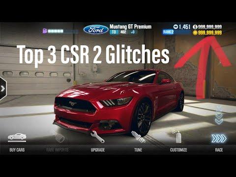 TOP 3 CRAZIEST CSR 2 GLITCHES! (featuring EvMan0509)