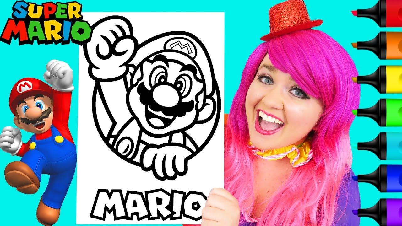 Mario Bros Coloring   Super Mario Bros  Free Coloring Pages   Kids   720x1280