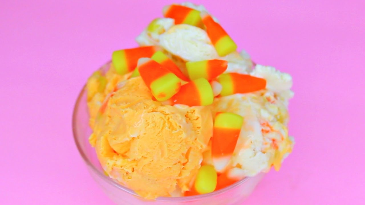 pictures How to Make Candy Corn Ice Cream