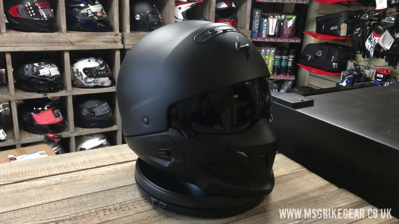 Scorpion Exo Combat Helmet 360 176 View Msgbikegear Co Uk