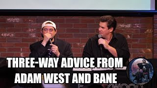 Three-Way Advice from Adam West and Bane