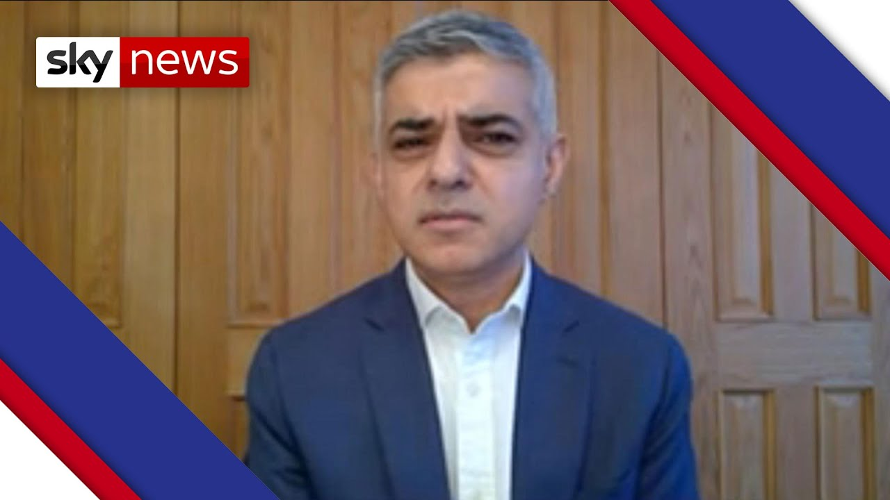 Sadiq Khan says: 2020 'worst year for London since WWII'