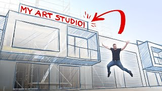 I GOT MY DREAM ART STUDIO!!!