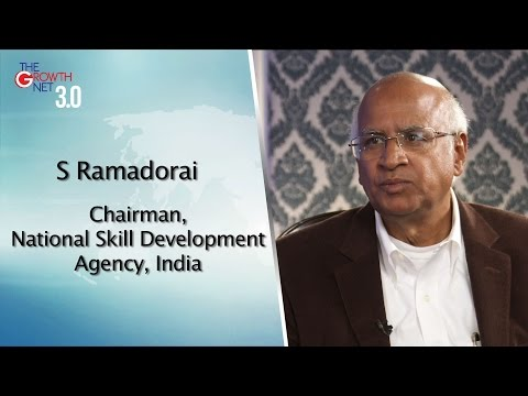 S Ramadorai, Chairman, National Skill Development Agency, India
