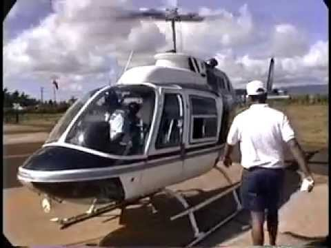Travelog to Hawaii, Helicopter Ride Over Kauai