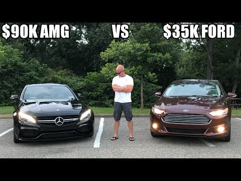 $90K Mercedes VS $35K Ford - Cost Of Insurance - How Big Is The Difference Between My Two Cars ?