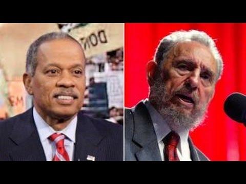 Juan Williams reacts to Fidel Castro