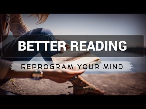 Better Reading affirmations mp3 music audio - Law of attraction - Hypnosis - Subliminal