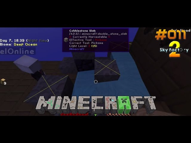 Let's Play Minecraft Sky-Factory 2 | Defekter Cobble-Generator | Folge #011