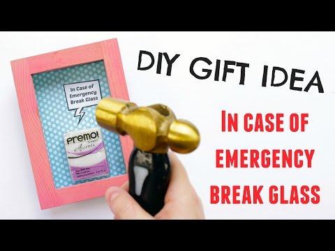 DIY Personalized Gift Idea | Emergency Shadow Box