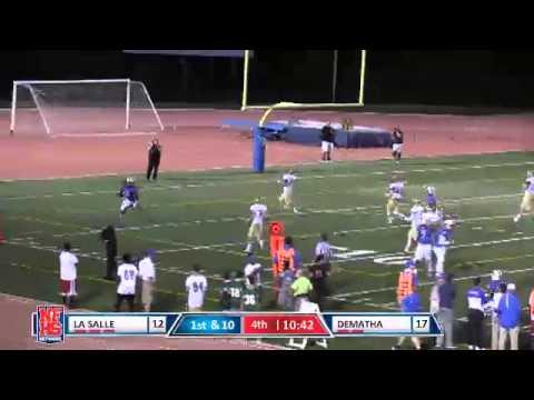 DeMatha #5 Anthony McFarland 25 yard TD catch