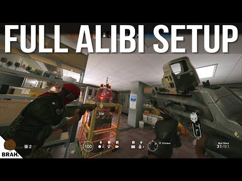 The Clever Alibi Setup - Rainbow Six Siege Pro League Tips & Tricks Year 3