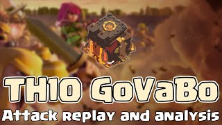 Clash of Clans | TH10 GoVaBo Clan War 3 star attack