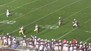 Harvard vs Brown Football Kick Return for a Touchdown Marco Iannuzzi