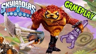 Skylanders Trap Team: Wolfgang fights Flynn in the Academy at E3 2014 ;P