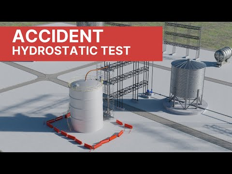 Process Accident - Industrial Accident during Hydrostatic Test (4K)