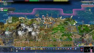 IUPlays Civ IV Caveman2Cosmos Diety Nightmare (L05E155) V37 9645 Sennacherib Finale