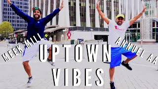 Meek Mill - Uptown Vibes ft. Fabolous & Anuel AA | Learn Bhangra Dance Steps & Tutorials