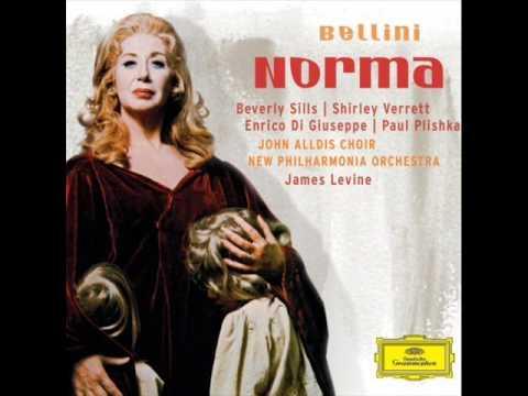 Bellini norma casta diva beverly sills cd recording youtube - Norma casta diva bellini ...