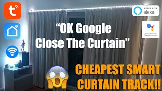 CHEAPEST SMART CURTAIN TRACK - SMART HOME ESSENTIAL!