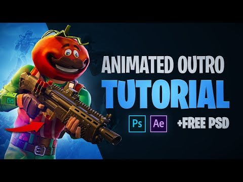 Animated Outro Tutorial (FREE PSD+AEP) - Tutorial By EdwardDZN