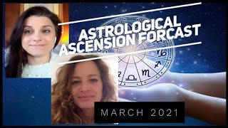 March 2021 Astrological Ascension Forecast - the 8 / sovereign royalty / divine will / self honor
