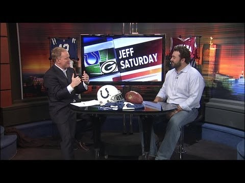 Center Jeff Saturday reflects on illustrious career