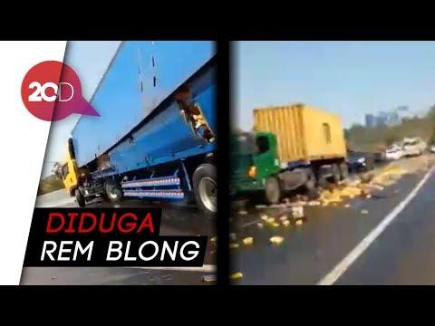 kecelakaan-kembali-lagi-di-tol-cipularang,-truk-terbakar!!
