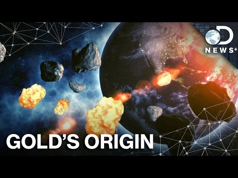 Wait... Gold Came From Ancient Asteroids?!