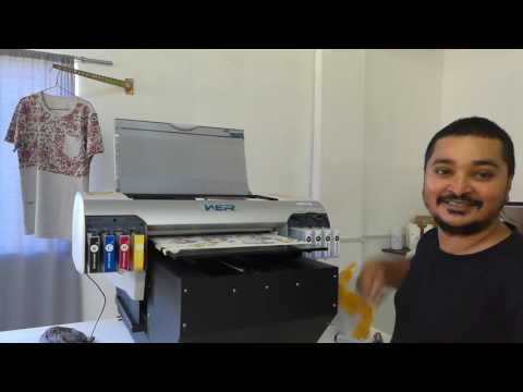Mauritius, Client WER D4880T A2 size desktop digital printing feedback video