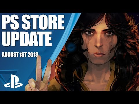 PlayStation Store Highlights - 1st August 2018