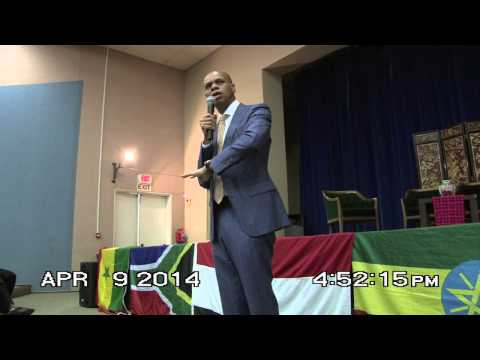 Town Hall with US Ambassador to South Africa, Patrick Gaspard