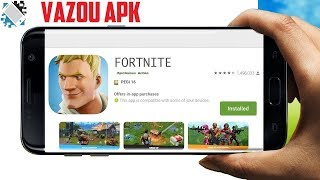 Leaked APK Fortnite Battle Royale-How to download and install (TEST APK)