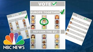 Euronews Explains The E.U. Elections | NBC News Video