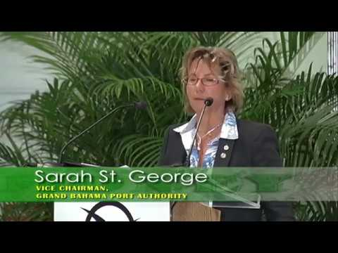 Sarah St. George, GBPA Vice Chairman at Grand Bahama Business Outlook 2013