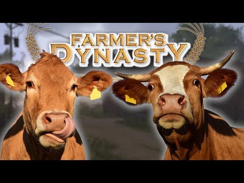 GOT MILK? | Farming Cows And The Cow Shed Repair | Farmer's Dynasty Part 10