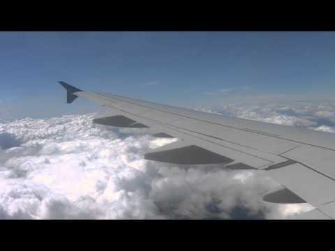 Air Astana, Airbus A321  Посадка в аэропорту Пулково ВПП 28R  Рейс Алматы   Санкт Петербург  КС135