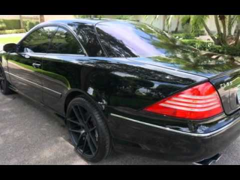 2003 Mercedes Benz Cl55 Amg For Sale In Fort Lauderdale Fl Call 954 868 3279 For Info