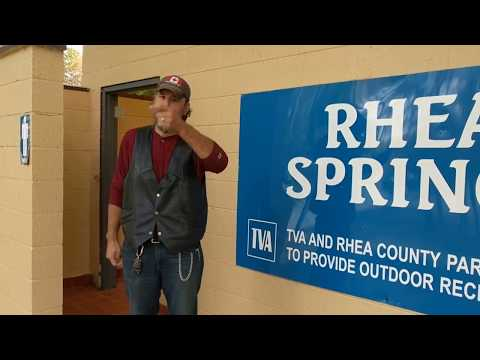 Rhea Springs Campground Review Free Camping Spring City  Watts Bar Nuclear Plant East Tennessee