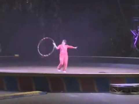 Gail Mirabella Circus Dog Act Highlights -- Ringling Gold Unit