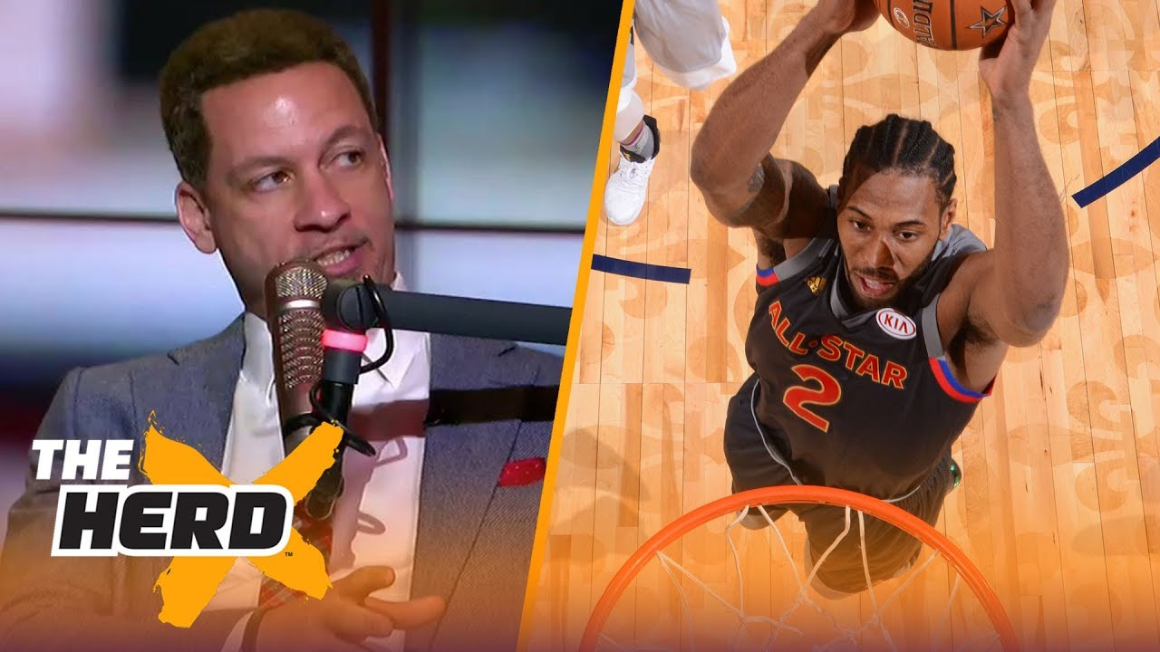 Chris Broussard: 'Hopefully Kawhi is looking at this thing the right way' | NBA | THE HERD
