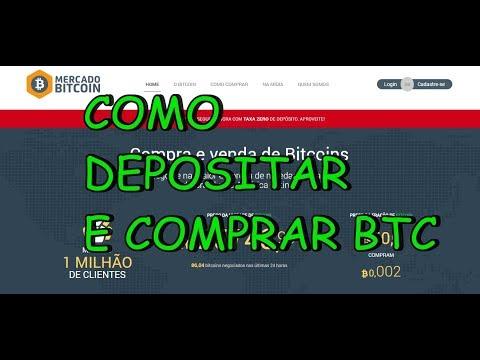 MERCADO BITCOIN - COMO DEPOSITAR DINHEIRO PARA COMPRAR BTC OU LTC