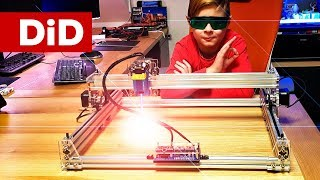 805. EleksMaker® EleksLaser-A3 Pro 2500mW - genialnie prosty i super tani laser