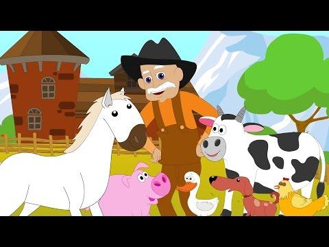 La vechia fattoria | canzoni per bambini compilation | musica più bambini | Old Macdonald Had A Farm