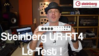 Steinberg UR-RT4, le test !