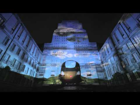 Virgin Money Senate House 3D Projection [Official]